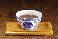Free Chinese Tea Cup Royalty Free Stock Photo - 15435905