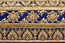 Free Thai Painting Stucco Stock Photos - 15436243