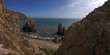Free Boulder Beach, Cabo Da Roca. Royalty Free Stock Images - 15436669