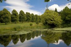 Free Lake And Gardens At Forde Abbey, Dorset Stock Image - 15436961