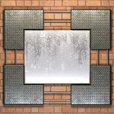 Metal Plate Steel Background Royalty Free Stock Photos