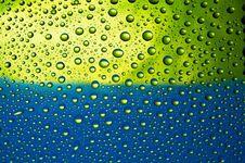Free Many Water Drops Royalty Free Stock Image - 15438076