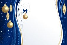 Background Christmas Blue Stock Photos