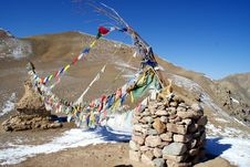 Free Buddhist Prayer-flags Stock Photography - 15439982