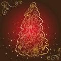 Free Christmas Tree. Stock Images - 15442714