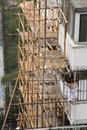Free Bamboo Scaffolding Royalty Free Stock Images - 15442719