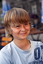 Free Portrait Of Smiling Young Boy Stock Photography - 15442872