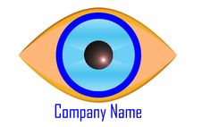 Free Eye Logo Royalty Free Stock Image - 15440236