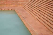 Free Pool With Stairs Stock Images - 15440624