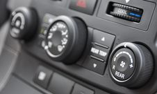 Free Vehicle Console Royalty Free Stock Photography - 15441207