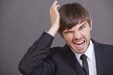 Free Frustrated Businessman Stock Photos - 15441673