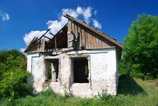 Broken House Royalty Free Stock Photos