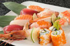 Free Sushi Royalty Free Stock Photo - 15443155