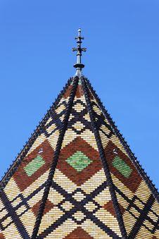 Roof Of Monastery Stock Photo