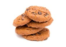 Round Cookies Royalty Free Stock Image