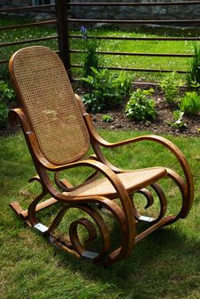 Free Rocking Chair Royalty Free Stock Images - 15445349