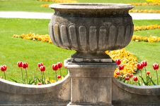 Free Salzburg, Vase On The Mirabell Garden Royalty Free Stock Images - 15445389