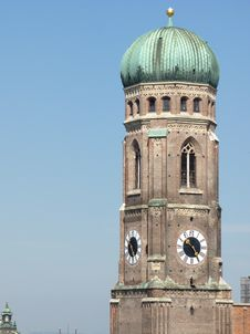 Free Frauenkirche, Munich Stock Photo - 15446440