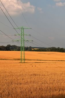 Free Rural, Farmland Landscape. Royalty Free Stock Photography - 15446507