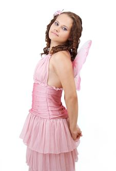 Free Pink Dress. Stock Images - 15446714