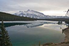 Free Two Jack Lake Stock Images - 15447904