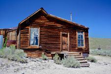 Free Ghost Town House Stock Photo - 15447940