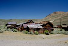 Free Ghost Town Stock Photography - 15447942