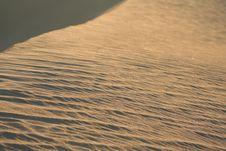 Shining Dune Slope Royalty Free Stock Image