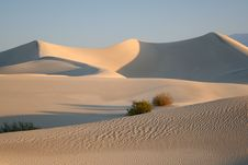 Free Dunes With Ripples Royalty Free Stock Photography - 15447987