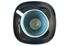 Free Tea Cup With A Spoon On The Saucer Royalty Free Stock Images - 15448099