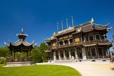 Free Chinese House Royalty Free Stock Photos - 15448238
