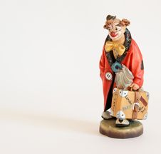 Free Figurine Of The Clown Royalty Free Stock Image - 15448386
