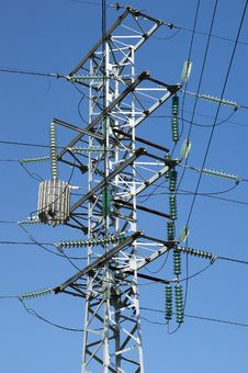 Free Electric Pylon Stock Photo - 15448450