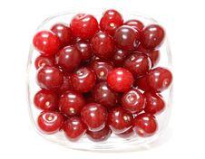 Free Fresh Cherries Royalty Free Stock Photos - 15448908