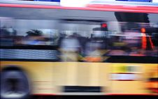 Free High Speed And Blurred Bus Trails Stock Images - 15449084