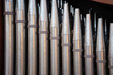 Free Church Organ Pipes Royalty Free Stock Photo - 15449355