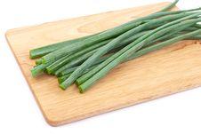 Free Green Onion Stock Photography - 15449512