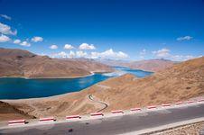 Free Lake In Tibet, China Royalty Free Stock Photo - 15449675