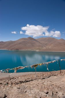 Free Lake In Tibet, China Royalty Free Stock Photography - 15449697