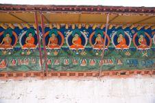 Free Buddha Painting Royalty Free Stock Photography - 15449727