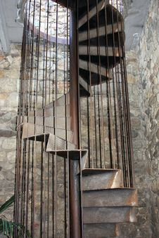 Free Spiral Staircase Stock Photography - 15449742