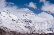 Free Mount Everest Royalty Free Stock Photo - 15449765