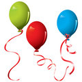 Free Realistic Colored Balloons Stock Image - 15454881