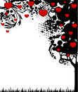 Free Tree With Red Hearts Royalty Free Stock Photos - 15456868