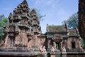 Free Karma Sutra In Banteay Srey Temple Cambodia Royalty Free Stock Photos - 15459788