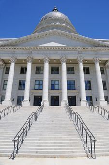 Free Utah State Capitol Building Royalty Free Stock Photography - 15450157