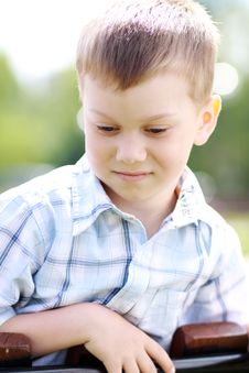 Free Beautiful Little Boy Stock Photography - 15450182