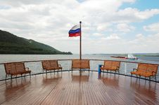 Free A Deck On Cruise Boat Stock Photo - 15451170