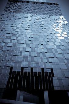 Free Modern Futuristic Glass Buildings Of Seoul Korea Royalty Free Stock Image - 15451196