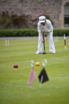 Free Game Of Croquet Royalty Free Stock Images - 15451319